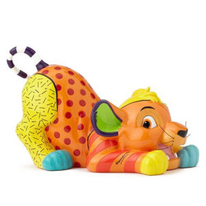 Disney The Lion King Simba Statue by Romero Britto