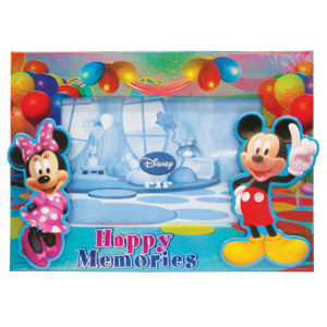 Mickey and Minnie Mouse Celebration Magnetic Photo Holder.