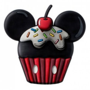Mickey Mouse Cup Cake Scented PVC Magnet
