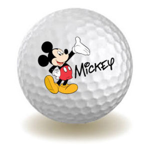 Mickey Mouse Golf Ball Magnet