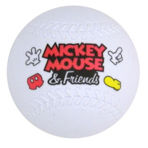 Mickey Mouse and Friends Baseball Magnet