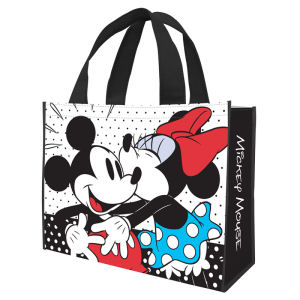 Disney Mickey Mouse and Minnie Mouse Large Recycled Shopper Tote