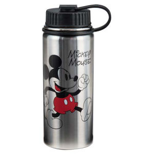 Mickey Mouse 18 Ounce Vacuum Insulated Stainless Steel Water Bottle