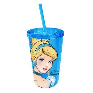 Disney Cinderella Portrait Plastic Travel Cup