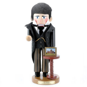Downton Abbey Butler Nutcracker