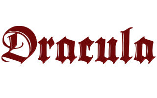 dracula Collectibles, Gifts and Merchandise Shipping from Canada.