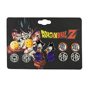 Dragon Ball Z 6-Pack Stud Earring Set