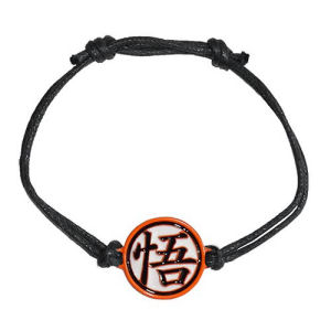 Dragon Ball Z Goku Orange Kanji Adjustable Bracelet