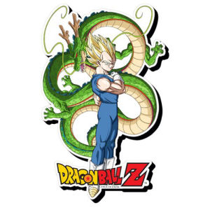 Dragon Ball Z Vegeta Funky Chunky Magnet
