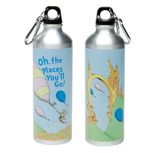 Dr. Seuss 27oz Stainless Steel Water Bottle