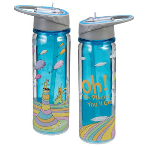 Dr. Seuss Oh the Places Youll Go 18 Ounce Tritan Water Bottle
