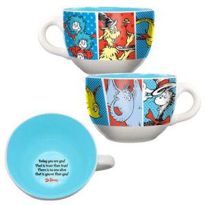 Dr. Seuss 20 Ounce Ceramic Soup Mug