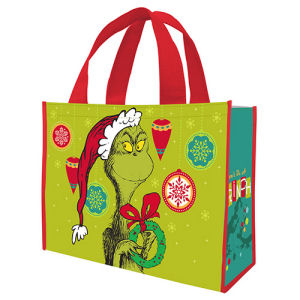 Dr. Seuss The Grinch Large Gift Tote