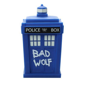 Doctor Who Titans Bad Wolf TARDIS Vinyl Figure.