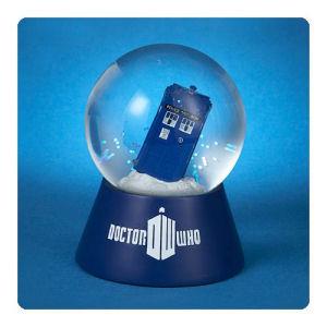 Doctor Who TARDIS Light-Up Snow Globe