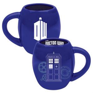 Doctor Who 18 Ounce Oval Ceramic Mug