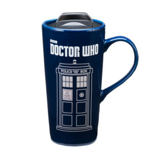 Doctor Who 20 Ounce Heat Reactive Ceramic Travel Mug