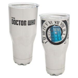 Doctor Who 30 Ounce Stainless Steel Vacuum Tumbler