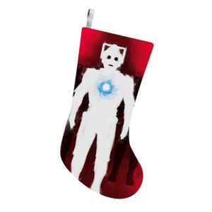 Doctor Who Cyberman 19 Inch Printed Stocking