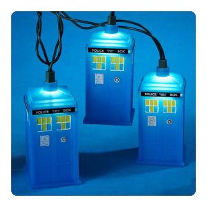 Doctor Who TARDIS Christmas Lights