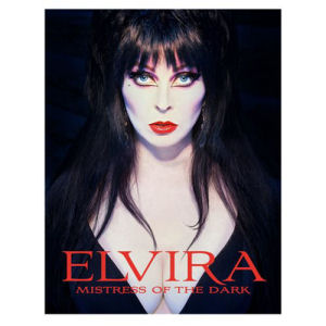 Elvira Mistress of the Dark Hardcover Book