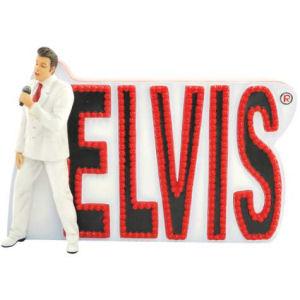 Elvis Presley Elvis In Lights Figurine