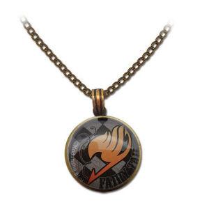 Fairy Tail Guild Emblem Grid Necklace