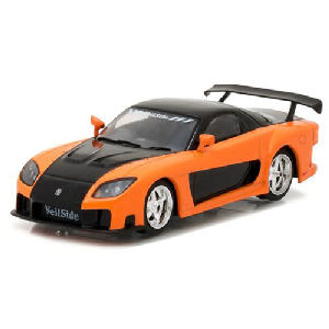 The Fast and the Furious Tokyo Drift Movie 1997 Mazda RX-7 1/43rd Scale Die-Cast Metal Vehicle