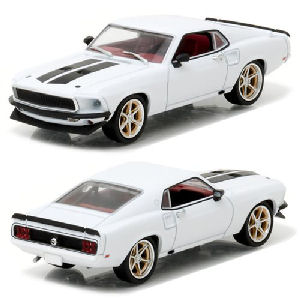 Fast and Furious 6 1969 Ford Mustang Custom Anvil Halo 1/43rd Scale Die-Cast Metal Vehicle