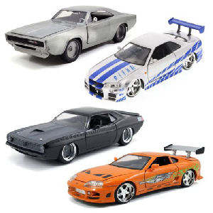 Fast and Furious 7 1/24th Scale Die-Cast Vehicle Wave 6 Case