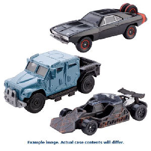 Fast and Furious Die-Cast Metal 1/55th Scale Vehicle Case
