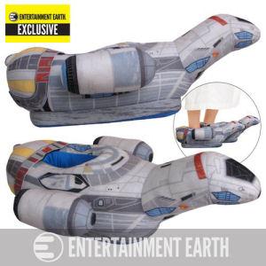 Firefly Serenity Ship Oversized Plush Slippers