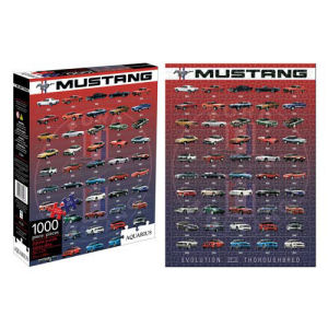 Ford Mustang Evolution 1000 Piece Puzzle