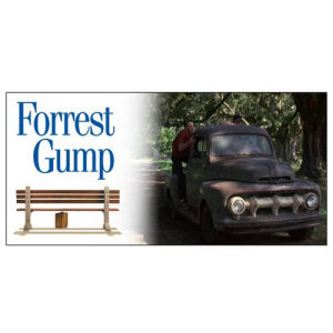 Forrest Gump 1951 Ford F-1 Box Truck 1/18th Scale Die-Cast Metal Vehicle