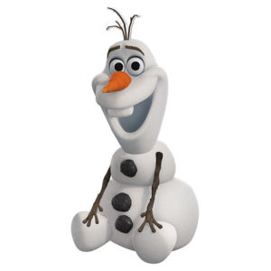 Frozen Olaf Sculpted Ceramic Cookie Jar