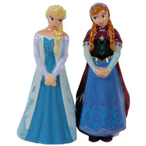 Disney Frozen Elsa and Anna Salt and Pepper Shakers