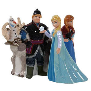 Disney Frozen Characters Salt and Pepper Shakers