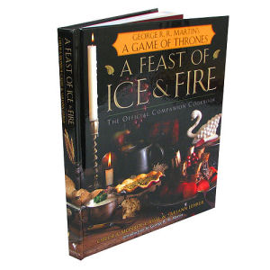 Game of Thrones A Feast of Ice and Fire Companion Cookbook Hardcover Book