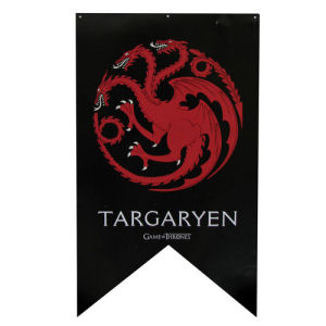 Game of Thrones Targaryen Sigil Banner