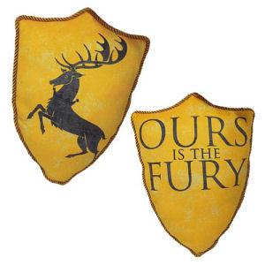 Game of Thrones House Baratheon Stag Throw Pillow