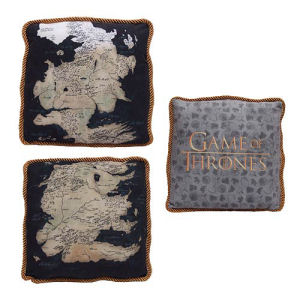 Game of Thrones Westeros Map Throw Pillow Master Case
