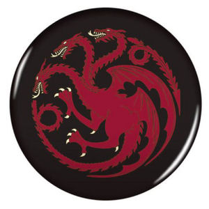 Game of Thrones 2.25 Inch House Targaryen Magnet