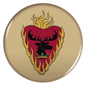 Game of Thrones 2.25 Inch House Stannis-Baratheon Magnet