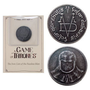 Game of Thrones The Iron Coin of the Faceless Man