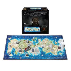 Game of Thrones Westeros Mini 4D Puzzle