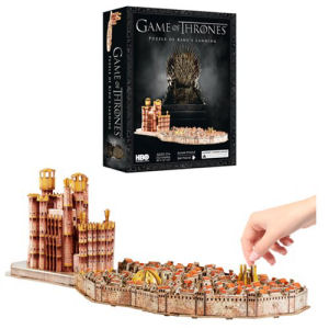 Game of Thrones Kings Landing 4D Cityscape Puzzle