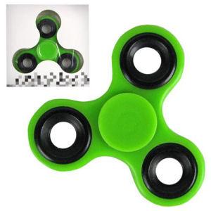 Fidget Spinner Green 3-Leaf Basic Hand Spinner