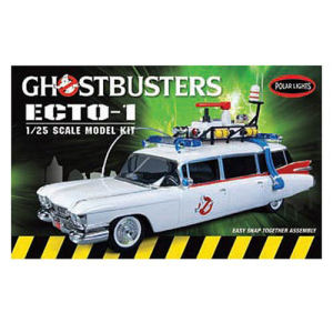 Ghostbusters Ecto-1 1/25th Scale Snap-Fit Model Kit