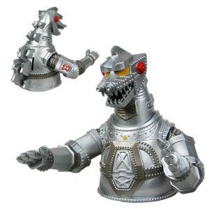 Godzilla Mechagodzilla 7 Inch Vinyl Bust Bank
