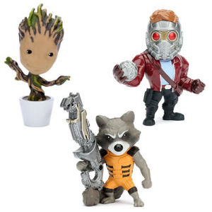 Guardians of the Galaxy 4 Inch Metals Figure Wave 1 Case